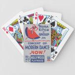Grupo de Myra Kinch de danza moderna Baraja Cartas De Poker