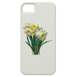 Grupo de narcisos blancos iPhone 5 Case-Mate coberturas