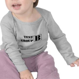 Grupo de prueba B Camiseta