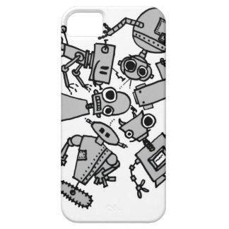 Grupo de robots iPhone 5 cobertura