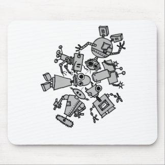 Grupo de robots tapete de ratones