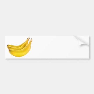 Grupo de saludables plátanos pegatina para auto