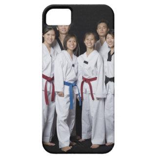 Grupo de situación del jugador de los artes marcia iPhone 5 Case-Mate cobertura