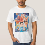 Grupo de Street Fighter 2 Chun-Li Poleras