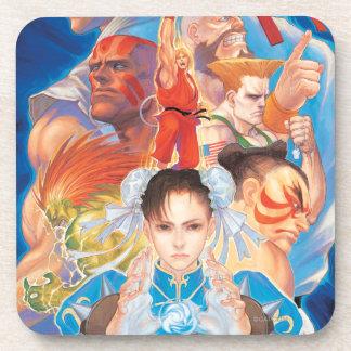 Grupo de Street Fighter 2 Chun-Li Posavasos De Bebidas