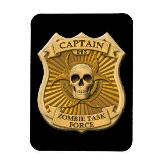 Grupo de trabajo del zombi - capitán Badge Iman Flexible