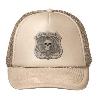 Grupo de trabajo del zombi - sargento Badge Gorro