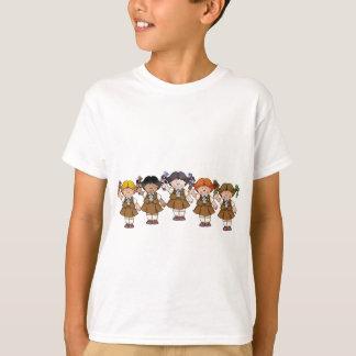 Grupo del brownie polera