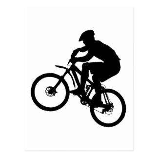 Grupo del campo común de la bici tarjeta postal