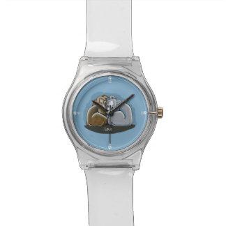 Grupo del galgo italiano relojes