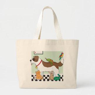 Grupo del mascota bolsas
