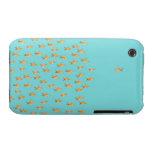 Grupo grande de goldfish que hace frente a un iPhone 3 carcasa