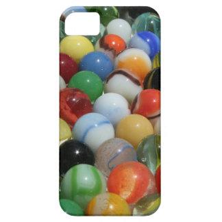 Grupo grande de mármoles antiguos del juguete iPhone 5 Case-Mate protector