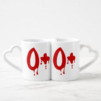 Grupo sanguíneo O+ Hospital positivo del #Horror Taza Amorosa