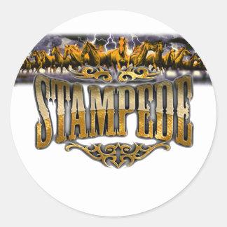 Grupo Stampede Merchandise! Classic Round Sticker