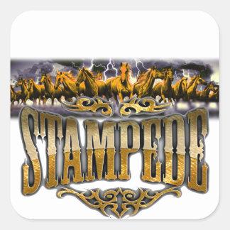 Grupo Stampede Merchandise! Square Sticker