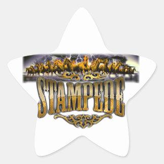 Grupo Stampede Merchandise! Star Sticker