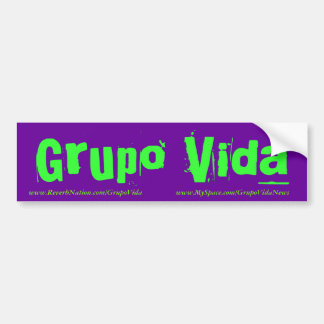 Grupo Vida Bumper Sticker