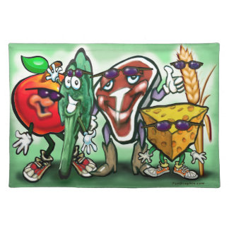 Grupos de alimentos manteles individuales