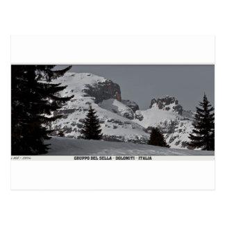 Gruppo del Sell - Piz da Lec de Boe (Pano) Postcard