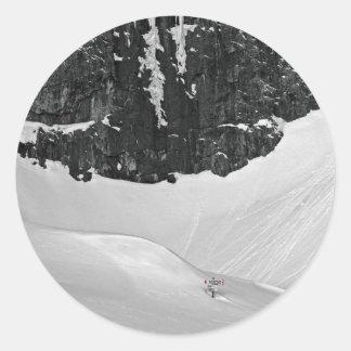 Gruppo del Sella - Lech de Boa Classic Round Sticker