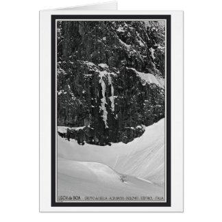 Gruppo del Sella - Lech de Boa Greeting Card