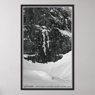Gruppo del Sella - Lech de Boa Poster
