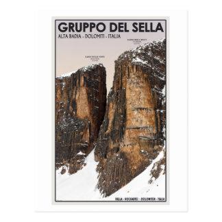 Gruppo del Sella - Nove y Dieci Postales