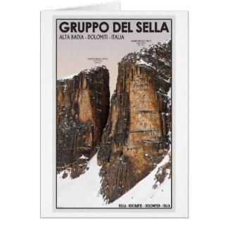 Gruppo del Sella - Nove y Dieci Tarjeta De Felicitación