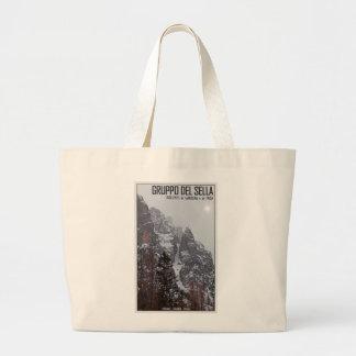 Gruppo del Sella - Sun Comes Through Canvas Bags