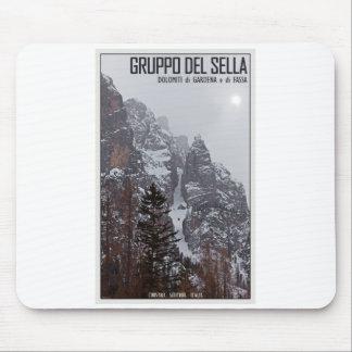 Gruppo del Sella - Sun Comes Through Mouse Pad