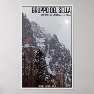 Gruppo del Sella - Sun Comes Through Poster
