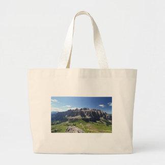 Gruppo Sella and passo Gardena Canvas Bag