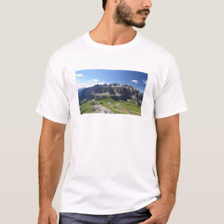 Gruppo Sella and passo Gardena T-Shirt