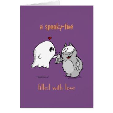 Halloween Themed Gruselgruß gefüllt mit Liebe von Fred Card