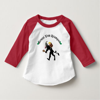 Gruss Vom 'Greetings From' Krampus Christmas T-Shirt