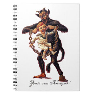 Gruss vom (Greetings From) Krampus Notebook