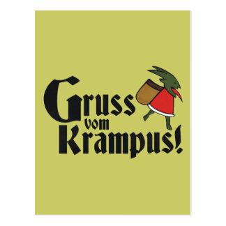 Gruss Vom Krampus Postal