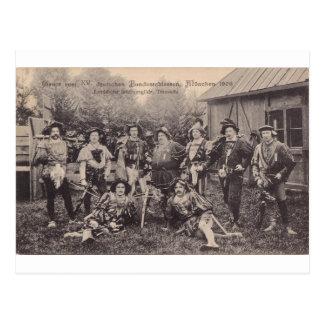 Gruss vom XV Bundesschiessen, Munchen 1906 Postcard
