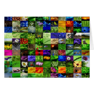Grußkarte Greetingcard   Collage Card