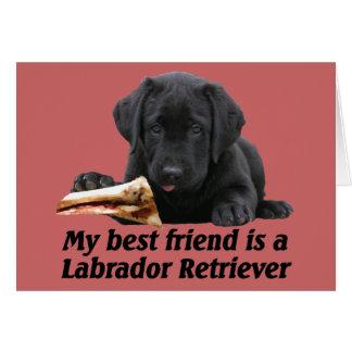 """Grußkarte """"Labrador Retriever"""" Card"""