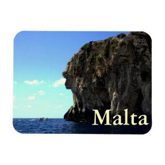 Gruta azul, Malta Iman
