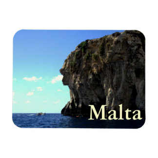 Gruta azul, Malta Rectangle Magnet