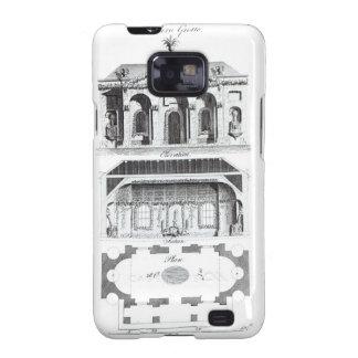 Gruta moderna, de la 'arquitectura o del RUR grote Galaxy S2 Carcasa