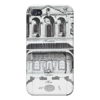 Gruta moderna, de la 'arquitectura o del RUR grote iPhone 4/4S Carcasa