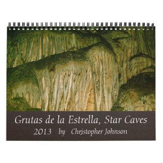 Grutas de la Estrella Cave 2013 Calendar