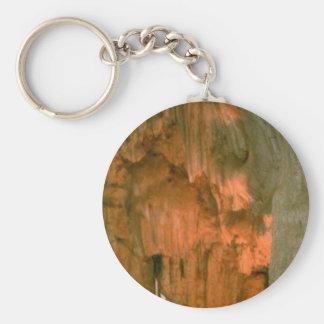 Grutas de la Estrella Cave Formation PICT0056A Basic Round Button Keychain