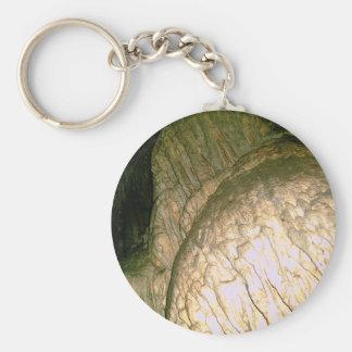 Grutas de la Estrella Cave Formation PICT0079A Basic Round Button Keychain