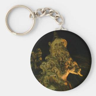 Grutas de la Estrella Cave Formation PICT0117A Basic Round Button Keychain