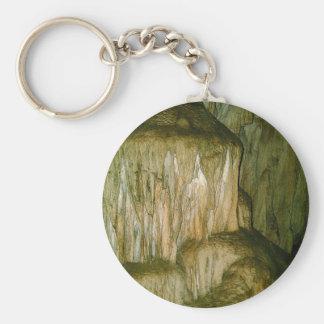 Grutas de la Estrella Cave Formation PICT0126A Basic Round Button Keychain